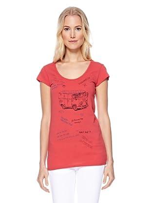Herrlicher T-Shirt Kandeen (Tomato)