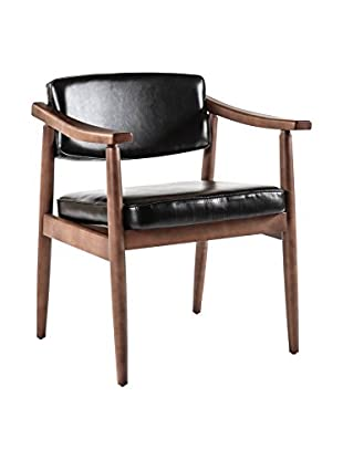 Control Brand Jonkobing Arm Chair, Black
