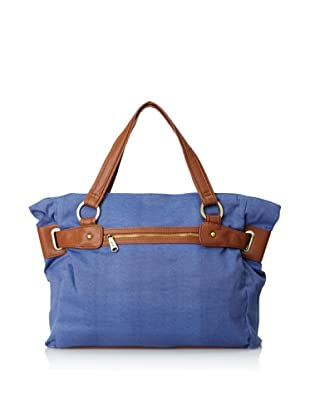 Co-Lab by Christopher Kon Women's Codie Canvas Tote (Blue)
