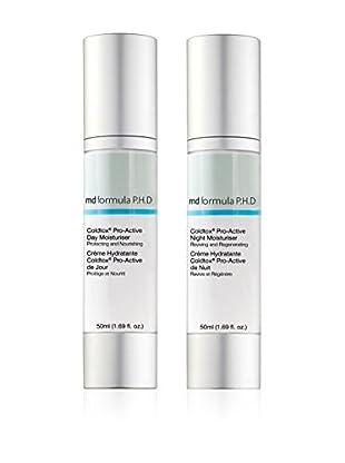 MD FORMULA  Beauty-Set 2 tlg. Coldtox Pro-Active Day Moisturizer, Coldtox Pro-Active Night Moisturizer