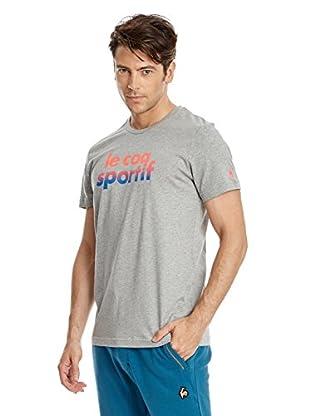 Le Coq Sportif Camiseta Manga Corta Ligne Logo