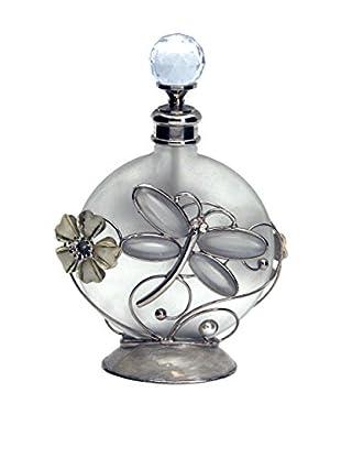 Dragonfly Perfume Bottle, White