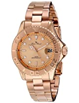 Lucien Piccard Women's LP-12652-RG-99 Walen Analog Display Japanese Quartz Rose Gold Watch