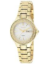 Casio Sheen Analog White Dial Women's Watch - SHE-4800G-7AUDR (SX102)