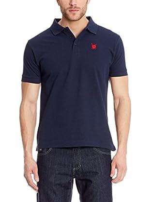POLO CLUB Poloshirt Custom Fit Escudo Liso