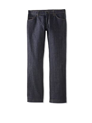 Salvatore Ferragamo Men's Relaxed Fit Jeans (Navy)