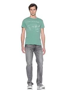 Fortunate Sun Men's Pistolets T-Shirt (Aloe)