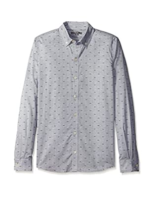 Threads 4 Thought Men's Print Long Sleeve Button-Down