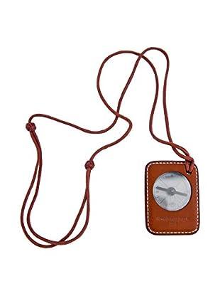 Hermès Rare Compass Necklace, Tan