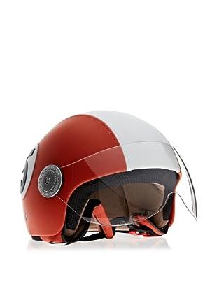 Andrea Cardone Motorradhelm (Orange)