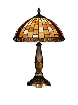 Dale Tiffany Baroque Table Lamp, Multi