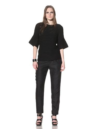 Rogan Women's Kobori Chunky Knit Sweater (Black)