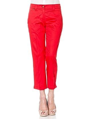 Cortefiel Pantalón Básico (Rojo)