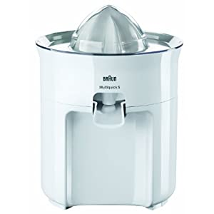 Braun Multiquick 5 MPZ22 60-Watt Citrus Juicer with Cover Lid (White)