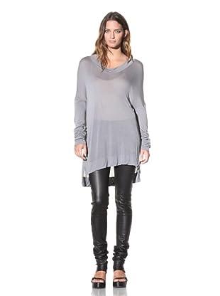 Ann Demeulemeester Women's Long Sleeve Tunic (Pearl)