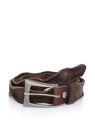 Bed Stu Women's Tamera Twisted Leather Belt (Brown)