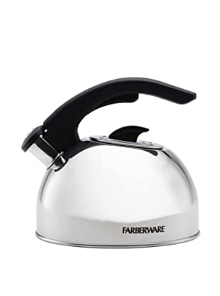 Farberware 2 Qt. Larkspur Teakettle with Color Changing Logo