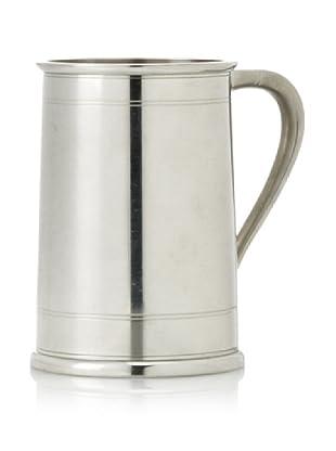 Vintage Silver-Plate Stein, c. 1920s