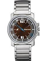 Fastrack Upgrades Analog Silver Dial Men's Watch - NE3039SM06