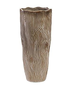 Small Landis Ceramic Vase, Natural