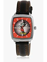99037 Black/Multi Analog Watch Disney