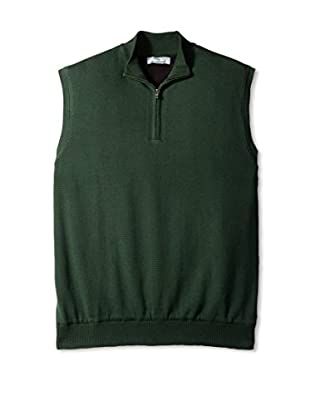 Cutter & Buck Men's Sandpoint Half Zip Vest Wind Sweater