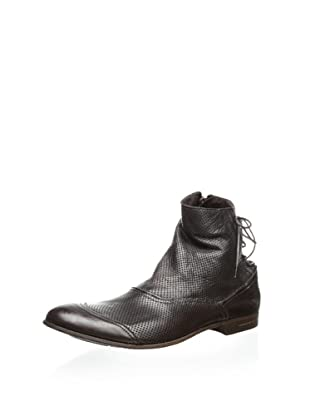 Dino Bigioni Men's Side-Zip Boot (Brown)