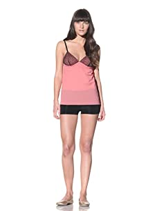 MARNI Women's Lace-Trimmed Camisole (Pink Candy)