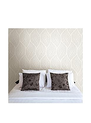 Kenneth James Calix Sienna Leaf Wallpaper, Platinum