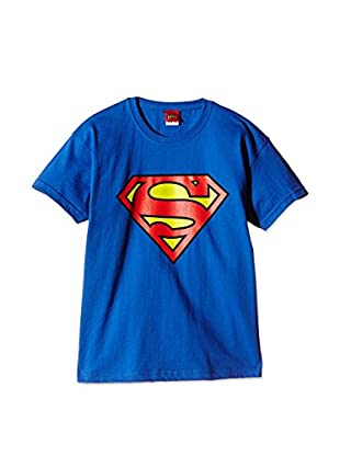 DC Comics T-Shirt Manica Corta Superman Logo