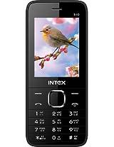 Intex Mega 510 Dual SIM Mobile Phone - (White-Black)