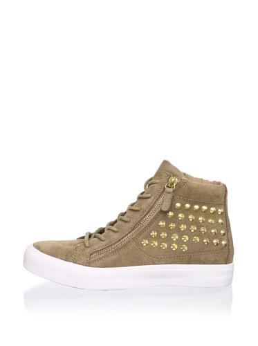 Kelsi Dagger Women's Kilee Studded Sneaker (Taupe)