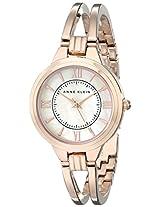 Anne Klein Womens AK/1440RMRG Rose Gold-Tone Bangle Watch