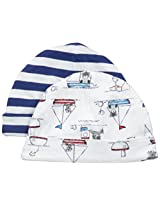ABSORBA Baby-Boys Newborn Little Sailor 2 Pack Cap Set