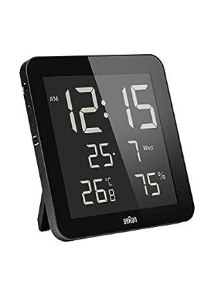 Braun Reloj despertador BNC014BKBK Negro