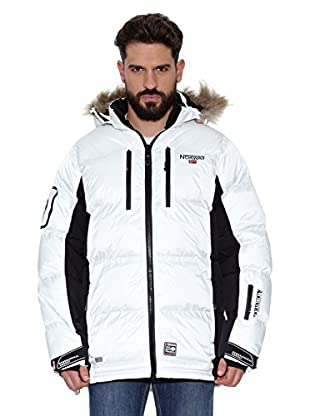 Geographical Norway Abrigo Corto Dumbo Men (Blanco / Negro)