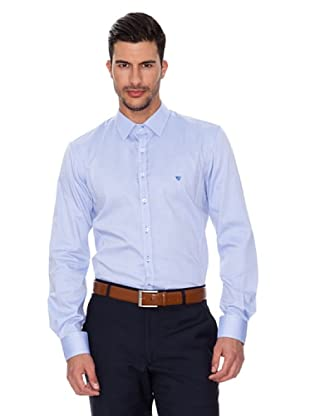 Caramelo Camisa Eyón (Azul)