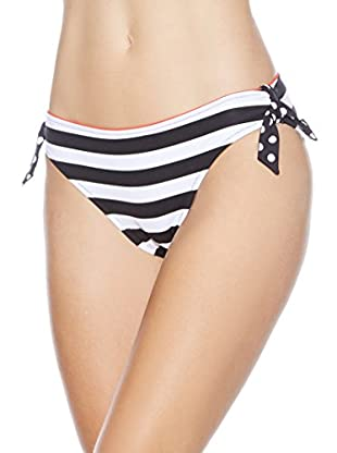 Rösch Bikini-Hose (schwarz/weiß)