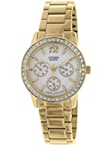 Citizen Analog Mother of Pearl Dial Women's Watch - ED8092-58D