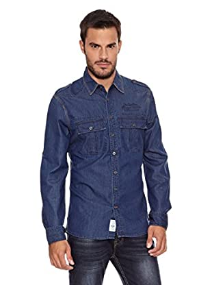 Paul Stragas Camisa Hombre Lee (Azul)