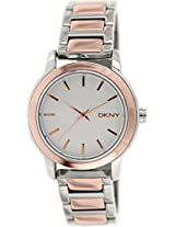 Dkny Analog White Dial Women's Watch - NY2211I
