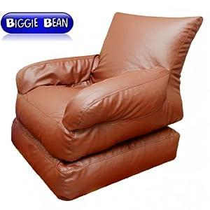 Mebelkart Bean Sofa cum Bed Convertible : Cover Only