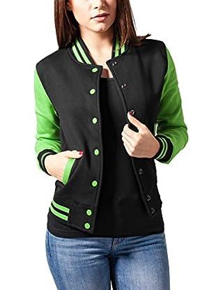 Urban Classics Chaqueta Ladies 2-tone College Sweatjacket