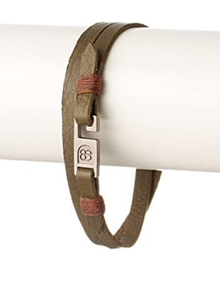 Griffin Army Legend Leather Double Wrap Bracelet