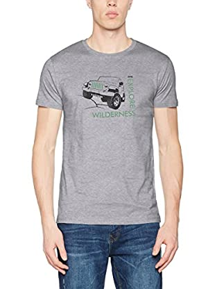 Jeep T-Shirt Manica Corta Willys-Explore Wilderness J7S