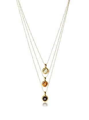Lionette Designs by Noa Sade Multi Dana Triple Charm Pendant Necklace