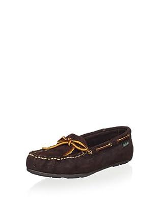 Eastland Women's Indy Boat Shoe (Brown Nubuck)