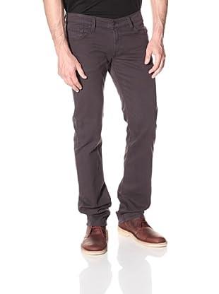 James Jeans Men's Travis Straight Leg Twill Pants (Gunmetal)