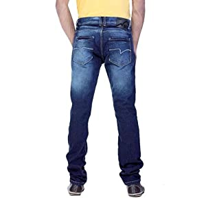 Locomotive Mens Super Slim Blue Youth Jeans - LMJN002218