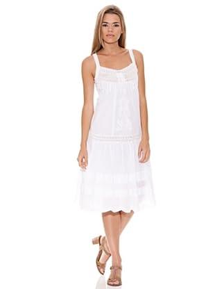 Peace & Love Vestido Calado (blanco)